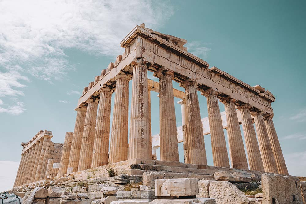 Take a tour of the Acropolis.