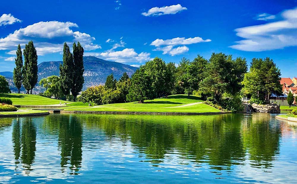 B.C. golfing is the best.