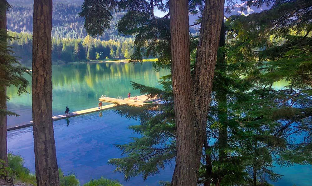 Explore B.C. lakes.