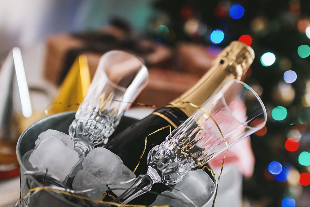 Pop the cork on New Year's Eve