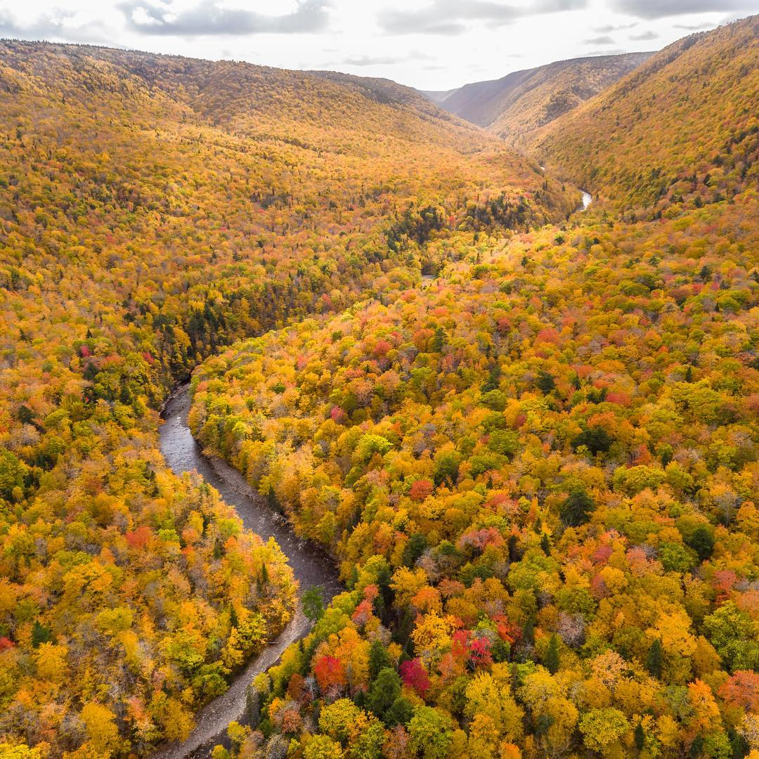 Cabot Trail Photo By Mike Bayer