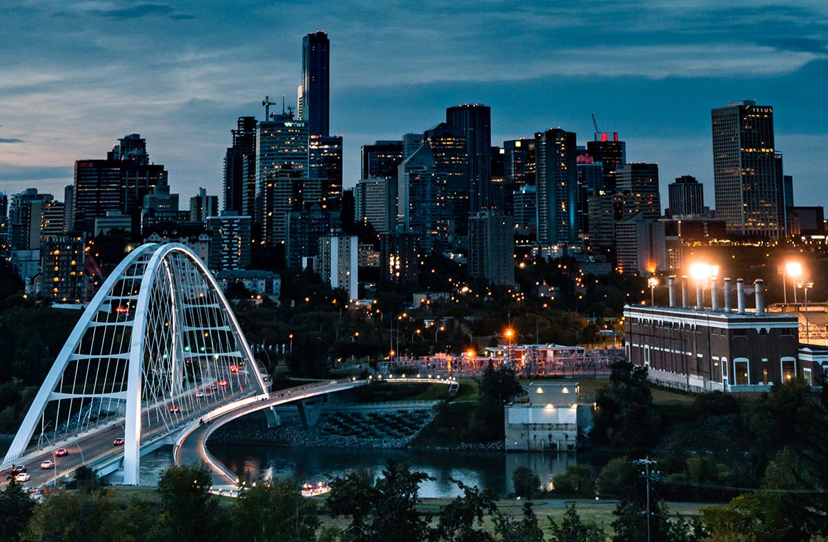 Explore the City of Edmonton.