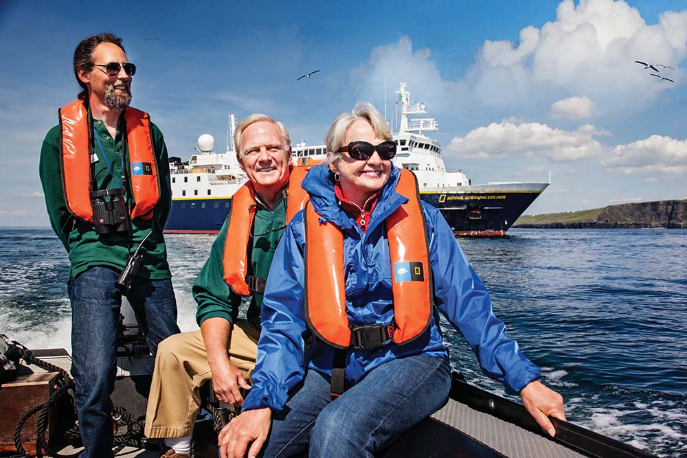 Off-ship excursion with Lindblad Expeditions.