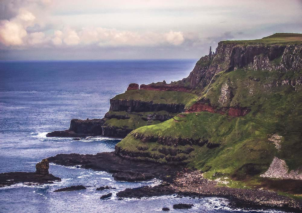 Explore the Giant's Causeway.