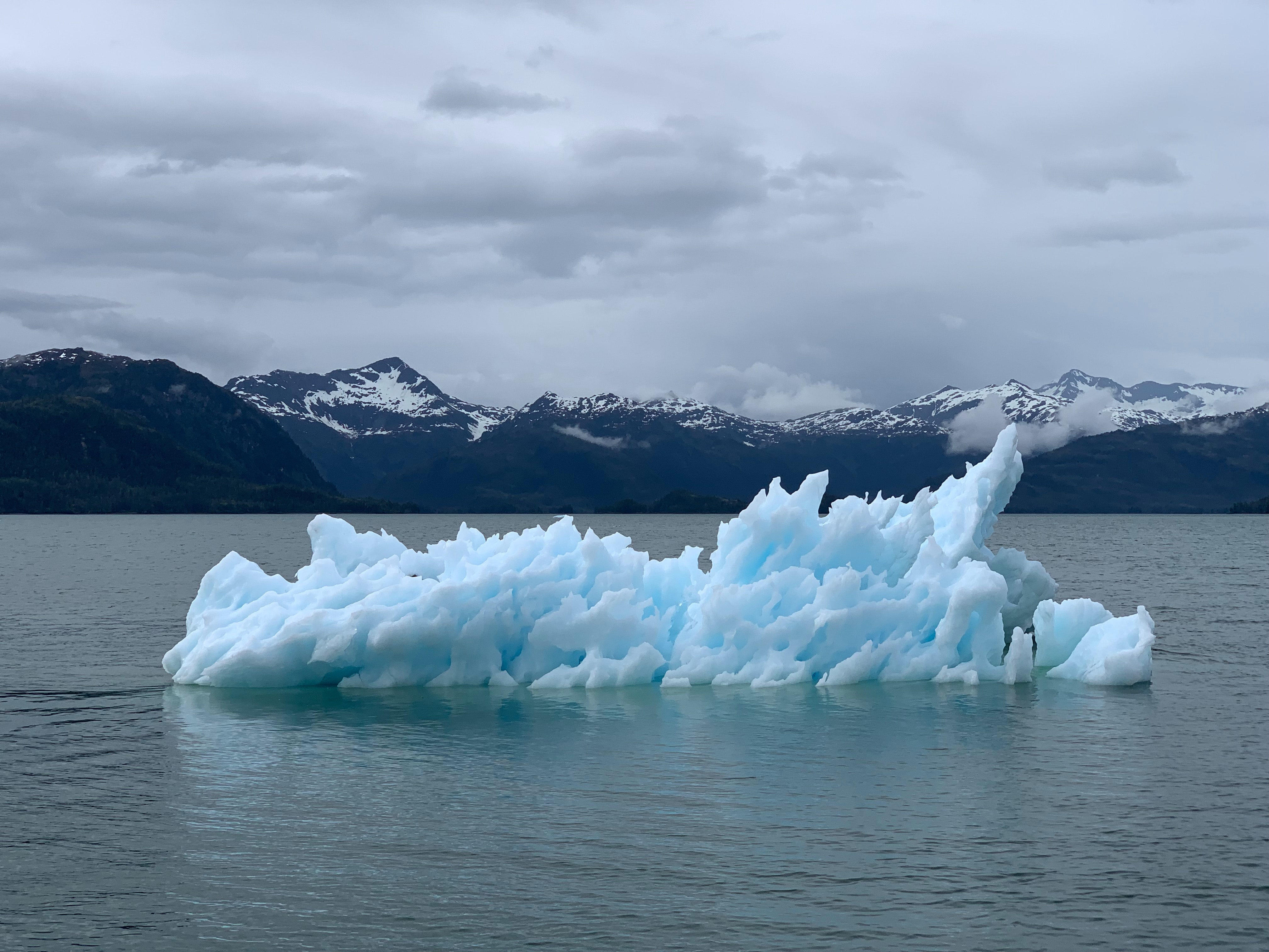 Ice formation in Alaska.