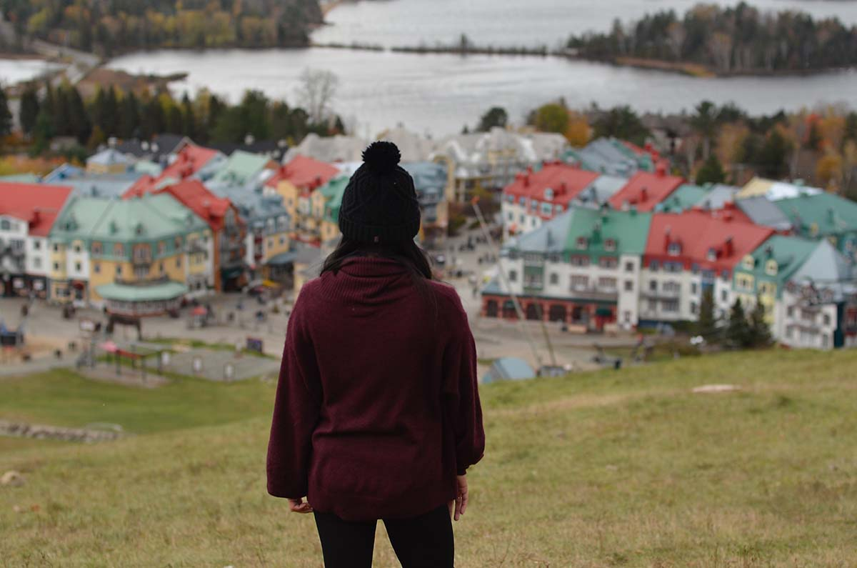 Mont-Tremblant in Quebec.