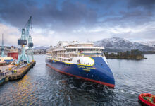 Lindblad Expeditions newest ship.