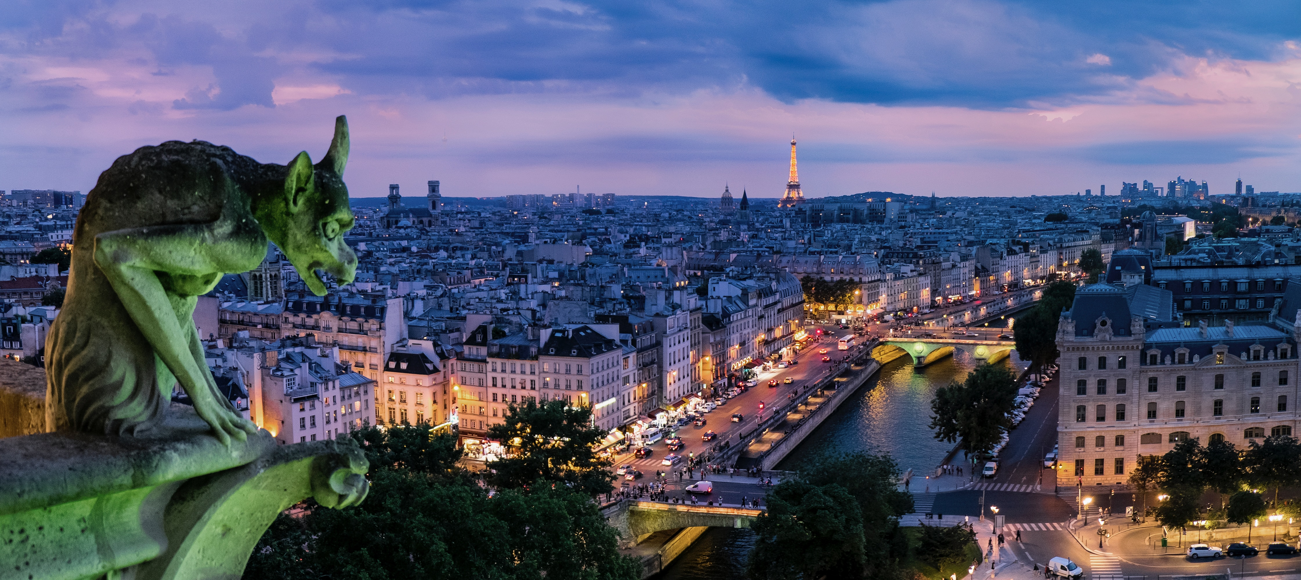 River Cruises offer roof-top tours of Paris.