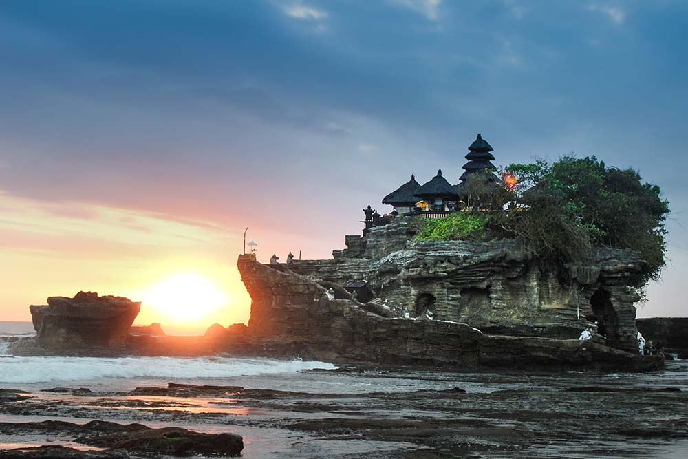 Ancient architecture in Bali.