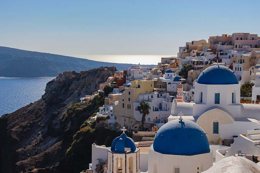 Santorini, Greece is one of the best places to visit.