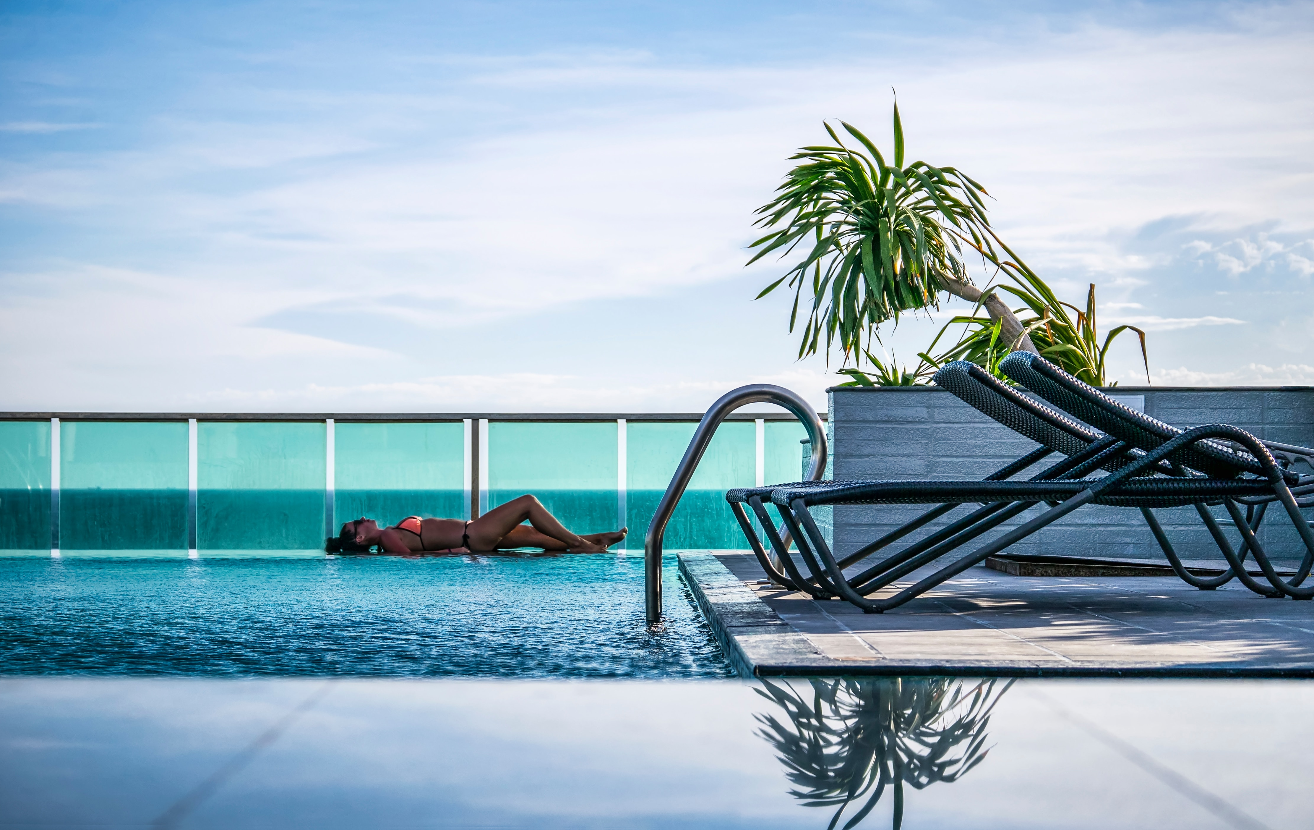 Cuba all-inclusive vacation by the pool.